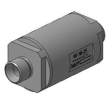Газовый фильтр ФГ-10-25 1