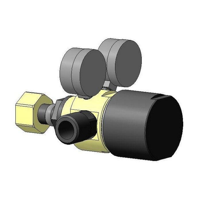 Газовый редуктор с манометром РГ-4-30-1,0 1